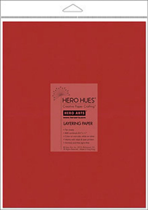 Hero Arts Grenadine Layering Paper  PS595