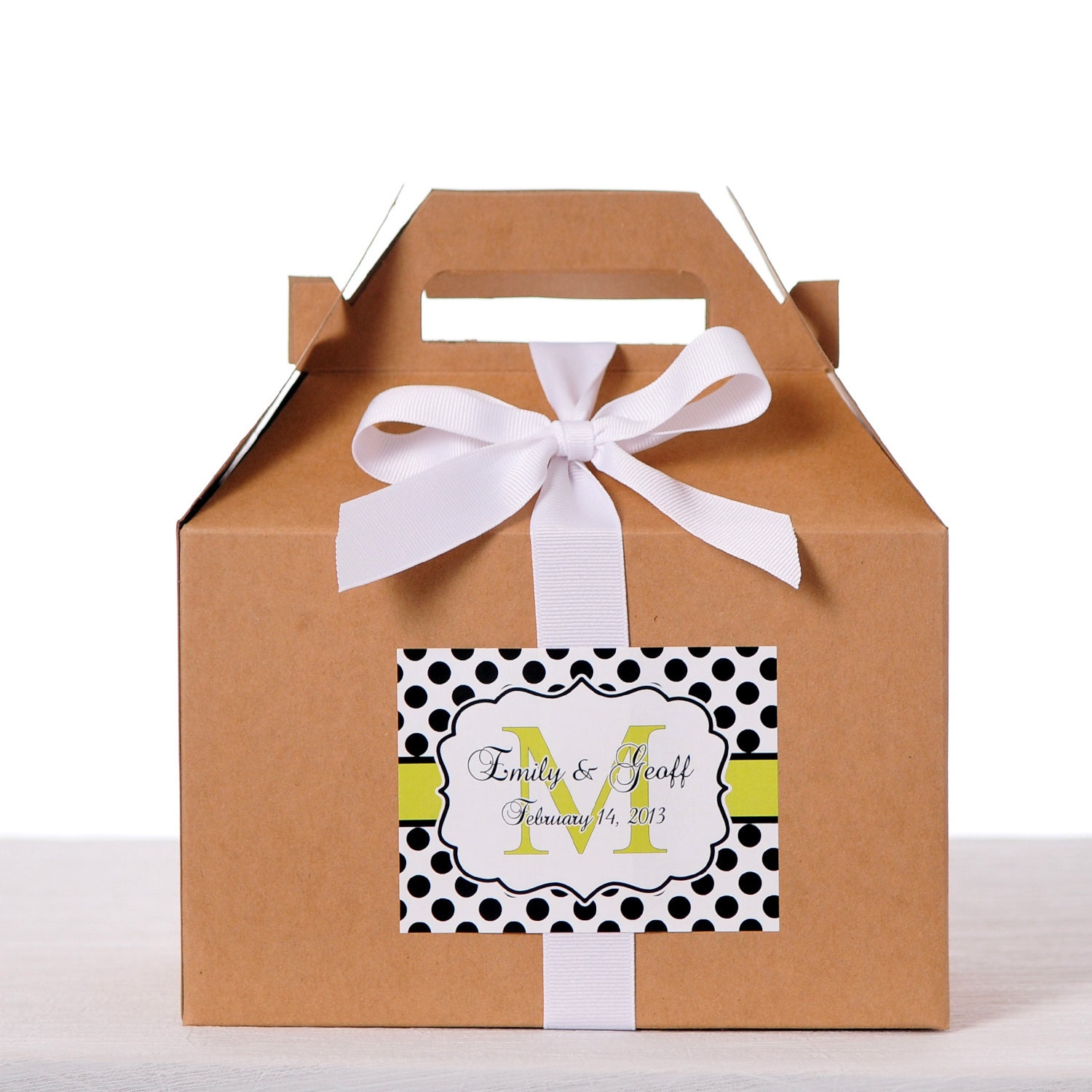 Wedding Gift Box Stickers : 60 4X3 Welcome Bag Labels Wedding Favor Box / Welcome Box