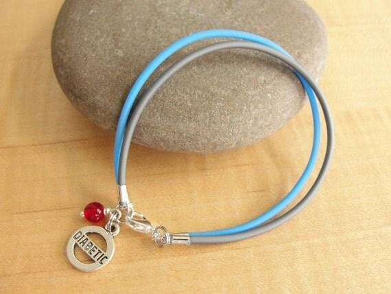 diabetes awareness bracelet anklet diabetic charm