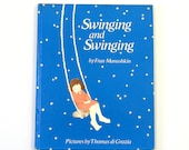Swinging and Swinging, Vintage 1970s Children's Book by Fran Manushkin