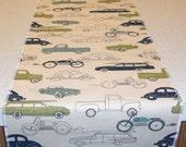 Vehicles Theme Table Runner