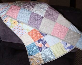 PRE-ORDER - Reversible Boy/Girl Mini Quilt