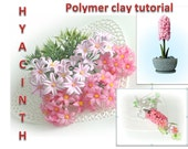 Hiacinth  Polymer clay tutorial