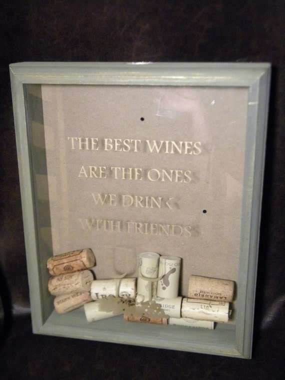 Items Similar To Wine Cork Holder Collection Display