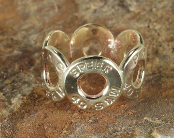 Bullet Ring - 40 Caliber SPEER and PMC Size 7 or 8