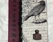 Edgar Allen Poe Inspired Composition Book - Reserved Listing for Tawnie P.
