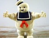 Vintage Ghostbusters Marshmallow Man Doll