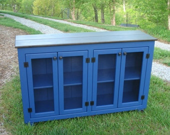 Painted Sideboard, Entertainment Center