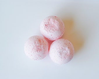 Sugar Plum Fairy Bath Bombs