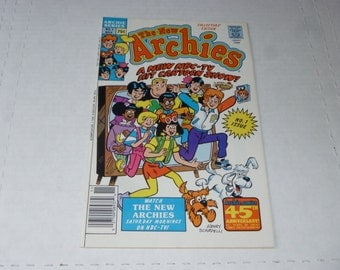 NEW ARCHIES Issue #1 Comic Book 1987