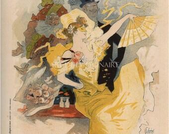 Art Nouveau Giclee THEATER POSTER PRINT--Belle EpoqueTheatre L'Opera Print