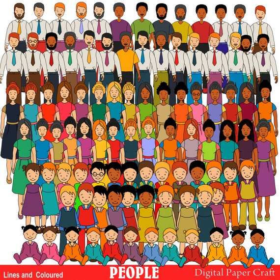 Multicultural Children Clipart Clipart Multicultural People