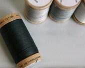 ORGANIC Cotton Thread in Black Onyx  - GOTS Certified - 4808
