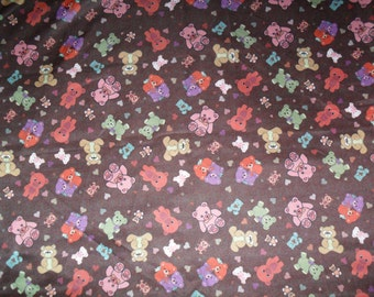 Custom Made Girls Fabric - Teddy Bears