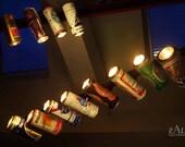 Vintage Beer can Track light. 1.