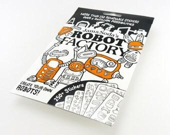 Robot Factory - Sticker Activity Pack