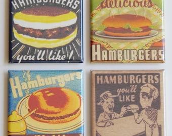 Hamburgers You'll Like Fridge Magnet Set
