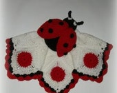 Lady Bug Lovey Crochet Pattern