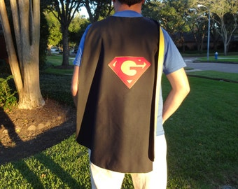 Custom Adult's Cape - Handmade and Reversible