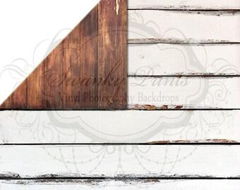 NEW ITEM / 5ft x 5ft REVERSIBLE Vinyl Backdrop / Double sided