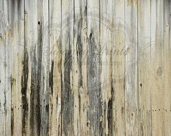 SWANKY PRINTS ORIGINAL 6ft x 5ft Vinyl Photography Backdrop / Rugged Wood