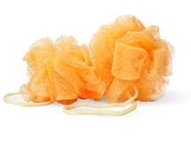 Peach Bath Puff Ball - Bath puff - Shower puff