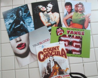Six (6) TV Movie Postcards