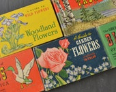 Vintage Field Guide Books - Bird Guide - Flower Guide - Natural History Reference Books - Set of 5