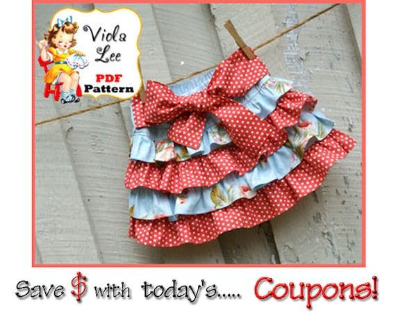 Jessalyn Girl's Skirt Pattern pdf, Ruffle Skirt Pattern, Skirt Sewing Pattern, Twirl Skirt Pattern. Toddler Skirt Pattern. Girls pdf Pattern