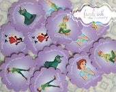 Peter Pan Personalized Stickers