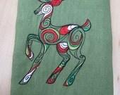 Reindeer Towel - EXTRA STOCK