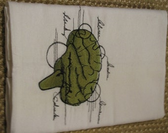 Zombie Brain Towel - DISCOUNTED FOR FLAW