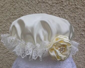 Satin cap for children