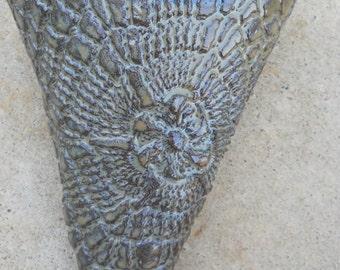 ceramic wall pocket cone