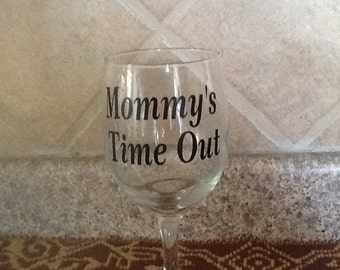 Mommy's Time Out - Vinyl Decal