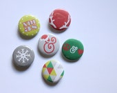 """1"""" Holiday Buttons"""