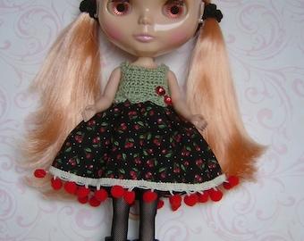 BLYTHE Dress - Red Cherries