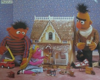 Popular Items For Sesame Street Puzzle On Etsy