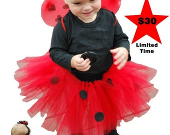 Lady Bug Halloween/ Dress up Costume