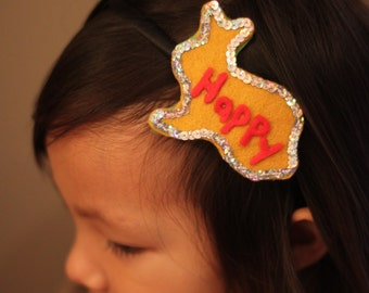 Beautiful headband for children or adult in felt