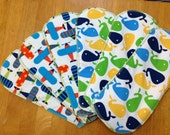 One Single Organic Hemp Cloth Diaper Insert: Size Large (works with gDiaper and many others)