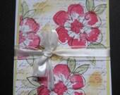Handmade set of four cards