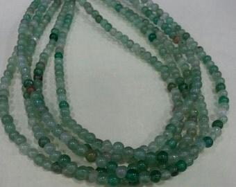 Green Aventurine Beads 4 mm Round - GA-4R
