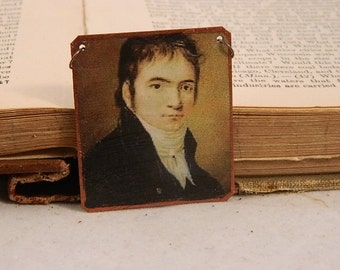 Beethoven Jewelry Composer jewelry classical music mixed media jewelry