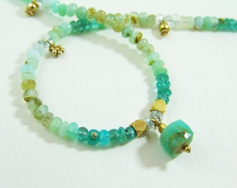 Very Special Peruvian Opal Necklace