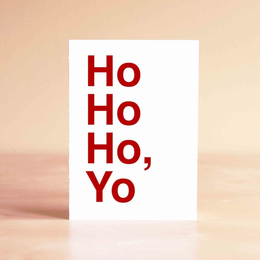 Funny Christmas Card Funny Holiday Card Best Friend