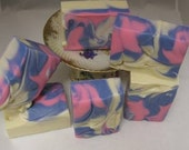 Sweet Pea Handmade Artisan Soap with Shea Butter 7 oz Bars