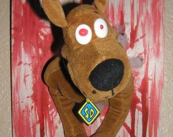 Stuffed Animal Taxidermy - Scooby-Doom