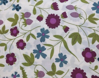 LIBERTY Of LONDON Tana Lawn Cotton Fabric  'Mirabelle' Floral