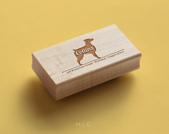 Brittany Spaniel - Personalize Stamp